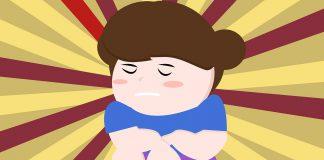 dítě trpí nadváhou