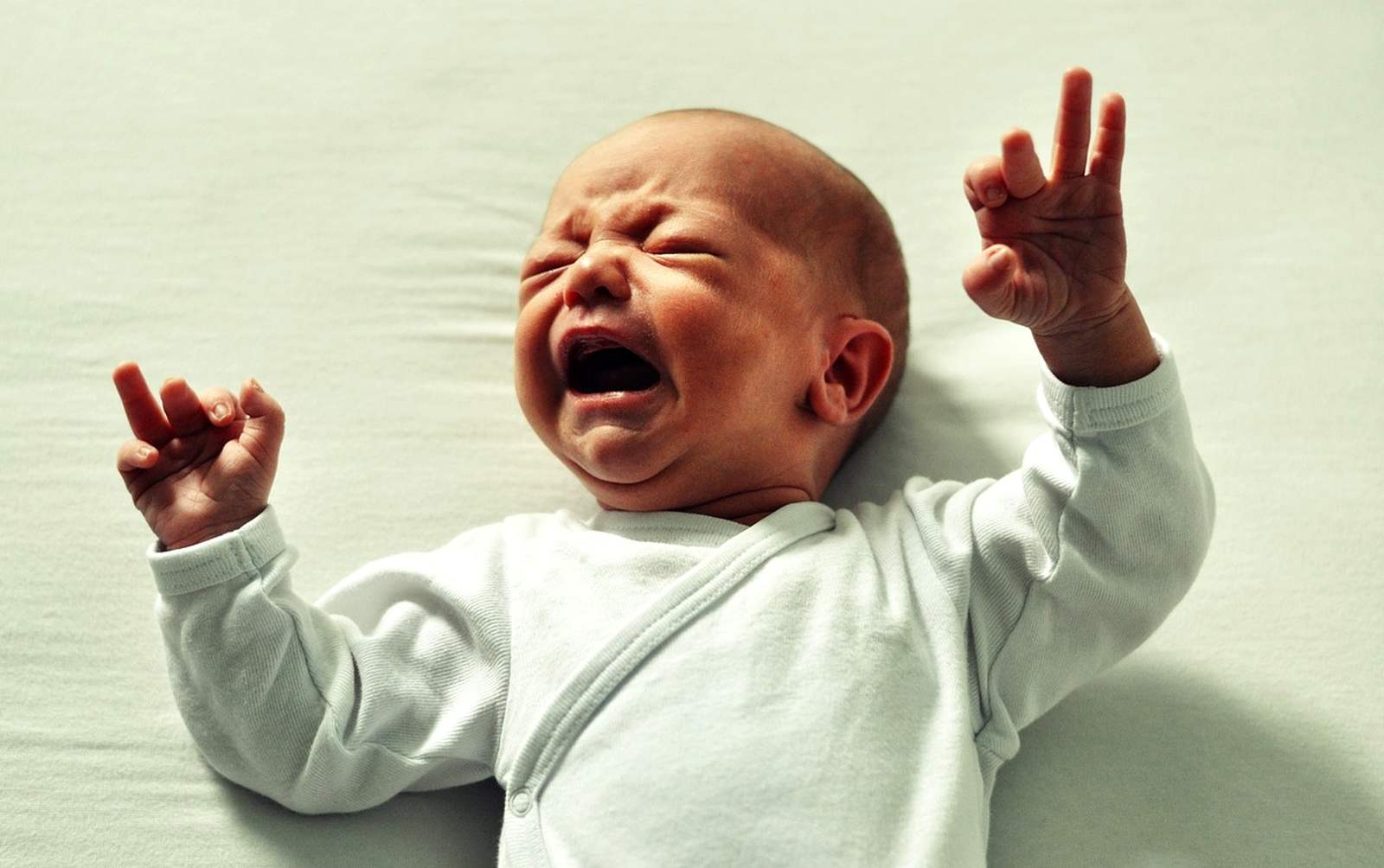 s plačícím miminkem